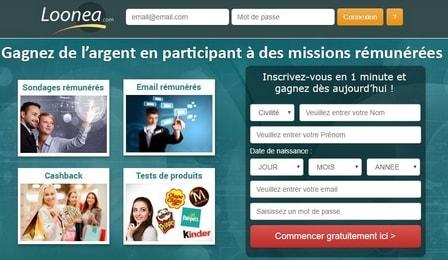 loonea - Site pour gagner de l'argent