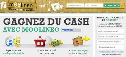 moolineo - Site pour gagner de l'argent